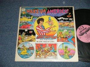 画像1: ABBIE HOFFMAN - WAKE UP, AMERICA (Comedy)  (Ex+/Ex++) / 1971 US AMERICA ORIGINAL Used LP