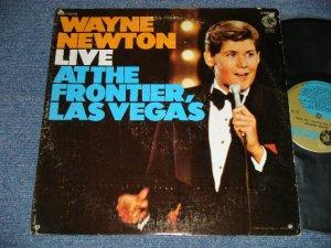 画像1: WAYNE NEWTON - LIVE AT THE FRONTIER, LAS VEGAS (Ex/MINT-  A-1:Ex+++ BB) / 1969 US AMERICA ORIGINAL Used LP