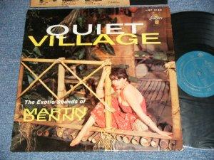 """画像1: MARTIN DENNY - QUIET VILLAGE (Ex++/MINT- )  / 1959 US AMERICA ORIGINAL 1st Press """"TURQUOISE Label"""" MONO Used LP"""