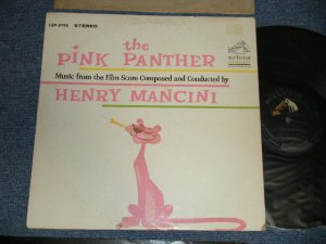 "画像1: ost HENRY MANCINI - THE PINK PANTHER (Ex+/Ex+ EDSP )  / 1963 US AMERICA ORIGINAL 1st Press ""SILVER RCA VICTOR at TOP, DYNAGROOVE  at BOTTOM Label"" STEREO Used  LP"