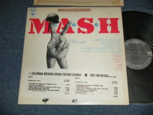 """画像1:  ost Johnny Mandel - M*A*S*H   with PROMO SHEET (""""The Original Sound track RECORDINGS"""") (Ex++/MINT-) / 1970 US AMERICA ORIGINAL """"PROMO"""" """"360 SOUND Label"""" Used LP"""