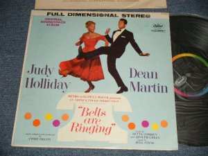 "画像1: ost JUDYHOLLIDAY & DEAN MARTIN - BELLS ARE RINGING (Original Soundtrack Album) (Ex+/Ex+ Looks:Ex+++ SWOBC, SEAMEDSP, )  / 1960 US AMERICA ORIGINAL 1st Press ""BLACK with RAINBOW 'CAPITOL' logo on LEFT Label"" STEREO Used  LP"