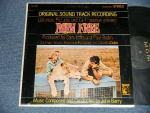 "画像1: ost JOHN BARRY - BORN FREE (Original Soundtrack Recordings) (Ex+/MINT- EDSP )  / 1966 US AMERICA ORIGINAL ""RECORD CLUB Release"" STEREO Used  LP"