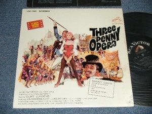 画像1: ost Bertolt Brecht / Kurt Weill / SAMMY DAVIS, JR. - THREE PENNY OPERA (An Original Soundtrack Recording) (Ex/MINT- WTRDMG)  / 1964 US AMERICA ORIGINAL STEREO Used  LP