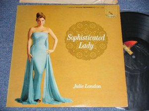 "画像1: JULIE LONDON - SOPHISTICATED LADY ( Ex++/MINT-)  /1962 US AMERICA ORIGINAL 1st Press ""BLACK with GOLD LIBERTY at LEFT  Label"" STEREO Used  LP"