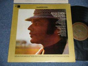 """画像1: JOHNNY MATHIS - THE FIRST TIME EVER (Ex+++/MINT-) / 1972 US AMERICA ORIGINAL """"QUADRAPHONIC"""" Used LP"""
