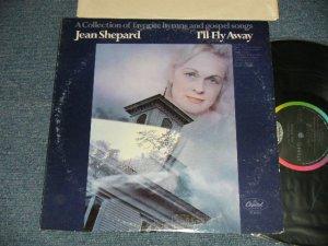 """画像1: JEAN SHEPARD - I'LL FLY AWAY (Ex/Ex+++ Looks:Ex++) /1969 US AMERICA ORIGINAL 1st Press """"BLACK with RAINBOW Label"""" Used LP"""