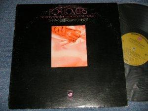 """画像1: The SAN SEBASTIAN STRINGS - FOR LOVERS (Ex+/Ex++ Looks:Ex+)  / 1969 US AMERICA ORIGINAL 1st Press Label """"GREEN with W7 Label"""" Used LP"""
