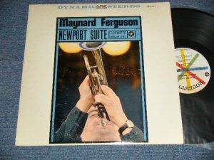 """画像1: MAYNARD FERGUSON - NEWPORT SUITE (Ex++/Ex++ )  / 1960 US AMERICA ORIGINAL 1st Press """"WHITE LABEL With COLORED SPOKES Label"""" STEREO Used  LP"""