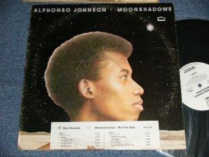 """画像1: ALPHONSO JOHNSON - MOONSHADOWS (Ex+/Ex+++ STOFC) /1976 US AMERICA ORIGINAL """"WHITE LABEL PROMO""""  Used LP"""