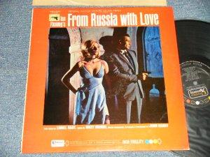 """画像1: 007 JAMES BOND, JOHN BARRY, MATT MONRO - FROM RUSSIA WITH LOVE (Ex+++/Ex++)  /1963 US AMERICA ORIGINAL 1st Press """"BLACK with COLOR DOT on TOP, GOLD 'UNITED' WHITE 'ARTISTS' Label""""  MONO Used LP"""