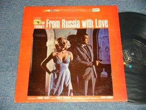 """画像1: 007 JAMES BOND, JOHN BARRY, MATT MONRO - FROM RUSSIA WITH LOVE (Ex+++/Ex++)  /1963 US AMERICA ORIGINAL 1st Press """"BLACK with COLOR DOT on TOP, GOLD 'UNITED' WHITE 'ARTISTS' Label""""  STEREO Used LP"""
