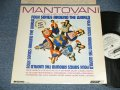 "MANTOVANI - FOLK SONG AROUND THE WORLD (Ex/MINT- WRTDMG, TEAROL)  / 1964 US AMERICA Jacket + UK ENGLAND ORIGINAL MONO Wax ""ffrr Press"" ""WHITE LABEL PROMO""   Used  LP"