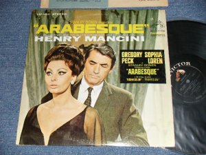 """画像1: ost HENRY MANCINI - ARABESQUE(Ex+/Ex++ Looks:Ex++  EDSP BB)  /1966 US AMERICA ORIGINAL 1st Press """"WHITE RCA-VICTOR, 'STEREO DYNAGROOVE' Label"""" Used LP"""