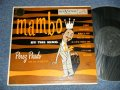 "PEREZ PRADO - ""MAMBO"" by THE KING (Ex++/Ex+  Looks:Ex) / 1953 US AMERICA ORIGINAL Used 10"" LP"