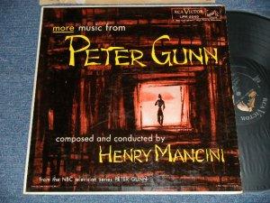 """画像1: ost HENRY MANCINI - More Music from """"PETER GUNN"""" (Ex/Ex+ EDSP)  / 1959 US AMERICA ORIGINAL 1st Press """"SILVER RCA VICTOR at TOP, LIONG PLAY at BOTTOM Label"""" MONO Used  LP"""