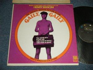 """画像1: OST/ HENRY MANCINI - GAILY, GAILY (Ex++/MINT- ) / 1969 US AMERICA """"CAPITOL RECORD CLUB Release"""" """"BLACK with COLOR DOT Label"""" Used LP"""