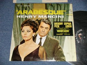 "画像1: ost HENRY MANCINI - ARABESQUE(Ex++/Ex++ )  /1966 US AMERICA ORIGINAL 1st Press ""WHITE RCA-VICTOR, 'STEREO DYNAGROOVE' Label"" Used LP"