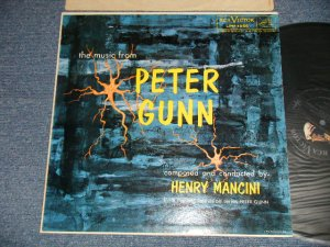 "画像1: ost HENRY MANCINI - The Music from ""PETER GUNN"" (Ex+++/Ex+++ EDSP) / 1959 US AMERICA ORIGINAL 1st Press ""SILVER RCA VICTOR at TOP, LONG PLAY at BOTTOM Label"" MONO Used  LP"