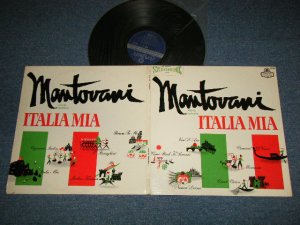 "画像1: MANTOVANI - ITALIA MIA (Ex+/Ex++)  / 1961 US AMERICA Jacket + UK ENGLAND ORIGINAL Wax ""ffrr Press"" STEREO Used  LP"