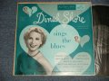 "DINAH SHORE - SINGS THE BLUES (Ex++/Ex++ EDSP, STPOBC)  / 1954 US AMERICA ORIGINAL Used 10"" LP"