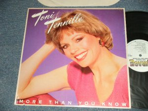 画像1: TONI TENNILLE - MORE THAN YOU KNOW (MINT/MINT)  / 1984 US AMERICA  ORIGINAL Used  LP