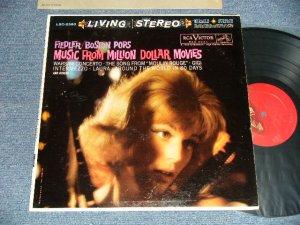 """画像1: ARTHUR FIEDLER / BOSTON POPS ORCHESTRA - Music From MILLION DOLLAR MOVIES (Ex++/Ex++) / 1960 US AMERICA ORIGINAL 1st Press """"RED with 'LIVING STEREO' at Bottom Label"""" STEREO Used LP"""