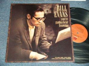 画像1: BILL EVANS - YOU'RE GONNA HEAR FROM ME (MINT-/MINT-) / 1988 US AMERICA ORIGINAL Used LP