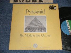 """画像1: MJQ The MODERN JAZZ QUARTET - PYRAMID (Ex+/Ex+++ WOFC, WOBC, EDSP9 / 1960's Version US AMERICA 2nd Press """"GREEN & BLUE Label"""" STEREO Used LP"""