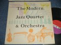 "MJQ The MODERN JAZZ QUARTET - The MODERN JAZZ QUARTET & ORCHESTRA (Ex++/Ex++) / 1961 US AMERICA ORIGINAL ""RED & PURPLE Label"" MONO Used LP"