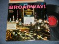 "The NORMAN LUBOFF CHOIR - BROADWAY (JAZZY CHORUS GROUP)  (Ex+++/MINT-) / 1958 US AMERICA ORIGINAL ""6-EYE'S Label"" STEREO Used LP"