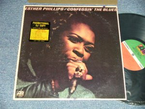 "画像1: ESTHER PHILLIPS - CONFESSIN' THE BLUES(Ex++/MINT-  EDSP) / 1976 US AMERICA ORIGINAL ""PROMO"" Label Used LP"