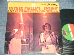 "画像1: ESTHER PHILLIPS - BURNIN' : LIVE AT FREDDIE JETT'S PIED PIPER,L.A. ( x++/MINT-  Looks:Ex+++ WOFC) / 1970 US AMERICA ORIGINAL 1st Press ""1841 BROADWAY"" Label Used LP"