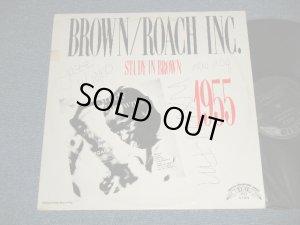 画像1: CLIFFORD BROWN & MAX ROACH BROWN/ROACH INC. STUDY IN BROWN 1955 (Ex-/MINT- WOFC) / 1980 US AMERICA REISSUE Used LP