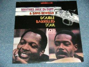 """画像1: BROTHER JACK McDUFF & DAVID NEWMAN - DOUBLE BARRELLED SOUL (SEALED) / US AMERICA REISSUE """"BRAND NEW SEALED"""" LP"""