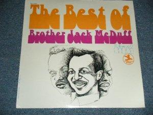 """画像1: BROTHER JACK McDUFF - THE BEST OF BROTHER JACK McDUFF LIVE! (SEALED) / US AMERICA REISSUE """"BRAND NEW SEALED"""" LP"""