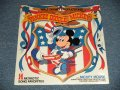 "WALT DISNEY Productions : MICKEY MOUSE - YANKEE DOODLE MICKEY (SEALED) /   US AMERICA ORIGINAL ""BRAND NEW SEALED""  LP"