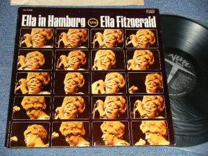 """画像1: ELLA FITZGERALD - ELLA IN HAMBURG (Ex++/MINT-)  / 1965 US AMERICA ORIGINAL """"1st Press Label"""" STEREO Used LP"""