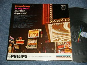 画像1: MICHEL LEGRAND - BROADWAY IS MY BEAT( Ex+/MINT- EDSP, STPOBC) / 1962 US AMERICA ORIGINAL MONO Used  LP