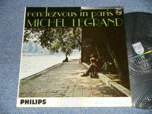 画像1: MICHEL LEGRAND - RENDEZVOUS IN PARIS ( Ex++/Ex+++ Tape seam) / 1962 US AMERICA ORIGINAL MONO Used  LP