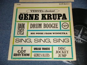 画像1: GENE KRUPA  - VERVE'S CHOICE : THE BEST OF (Ex+++/Ex+++ Looks:Ex+) /1963 US AMERICA ORIGINAL STEREO Used LP