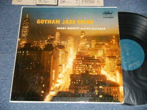 "画像1: BOBBY HACKETT and his Jazz Band - GOTHAM JAZZ SCENE (Ex++/Ex+++ EDSP) / 1957 US AMERICA ORIGINAL 1st Press ""TURQUISE Label"" ""MONO"" Used LP"