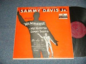 "画像1: ost  SAMMY DAVIS, JR.  Mr. Wonderful 1956 Broadway Cast - Mr. Wonderful (An Original Cast Album) (Ex++/Ex+++) / 1956 US AMERICA ORIGINAL 1st Press ""MAROON Label"" MONO Used  LP"