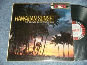 画像1: ARTHUR LYMAN - HAWAIIAN SUNSET : THE SOUND OF ARTHUR LYMAN (Ex+/Ex+++) / 1959 US AMERICA ORIGINAL STEREO Used  LP