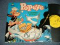 ANIME / POPEYE The Sailor Man - 4 EXCITING STORIES (Ex+/Ex++ EDSP) / 1971 US AMERICA ORIGINAL Used LP