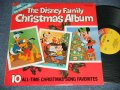 V.A. Omnibus - THE DISNEY FAMILY CHRISTMAS ALBUM (Ex+/Ex+++) / 1981 US AMERICA ORIGINAL Used LP