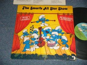 画像1: The SMURFS - THE SMURFS ALL STAR SHOW (Ex++/MINT-) / 1981 US AMERICA ORIGINAL Used LP