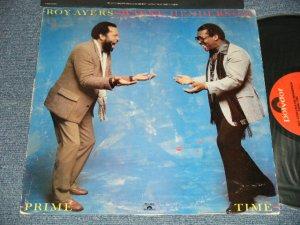 """画像1: ROY AYERS / WAYNE HENDERSON - PRIME TIME (Ex-/Ex++ EDSP) / 1980 US AMERICA ORIGINAL """"PROMO"""" Used LP"""