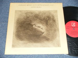 画像1: DONALD BYRD And 125TH STREET N.Y.C. - LOVE BYRD(Ex+/Ex+++) /1981 US AMERICA ORIGINAL Used LP