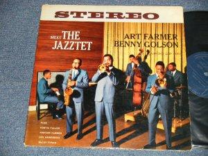 画像1: ART FARMER & BENNY GOLSON - MEET THE JAZZTET ( Ex++/Ex+ Looks:Ex  EDSP) / 1960 US AMERICA ORIGINAL STEREO Used LP